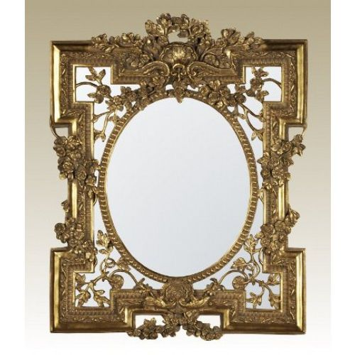 Florette Gold Bevelled Mirror